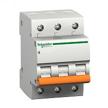 Автомат Schneider Electric 3п C 50А 4.5кА BA63